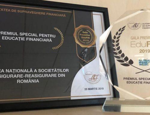 Campaniile de educatie financiara ale UNSAR, premiate la Gala EduFin
